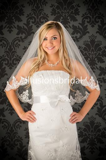 Illusions Bridal Veils Style #25B3L