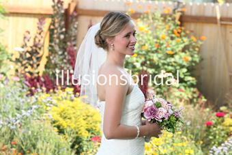 Illusions Bridal Veils Style #25C