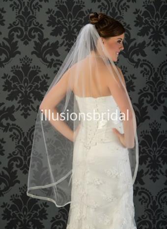 Illusions Bridal Veils Style #5