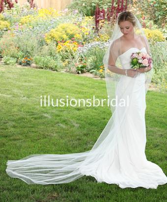 Illusions Bridal Veils Style #T108CT