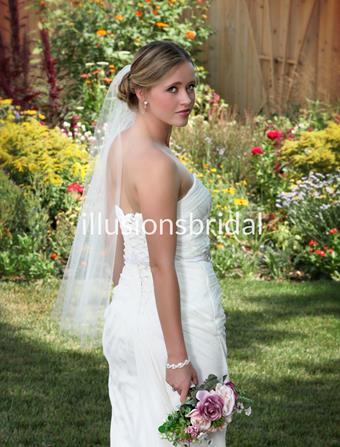 Illusions Bridal Veils Style #T36CT