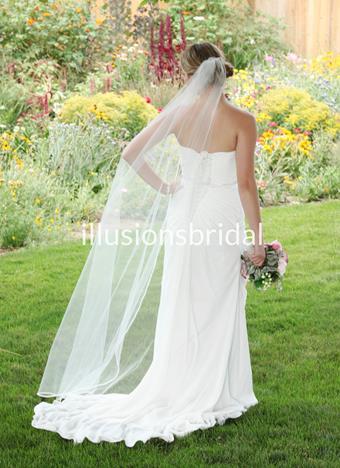 Illusions Bridal Veils Style #T72PRS