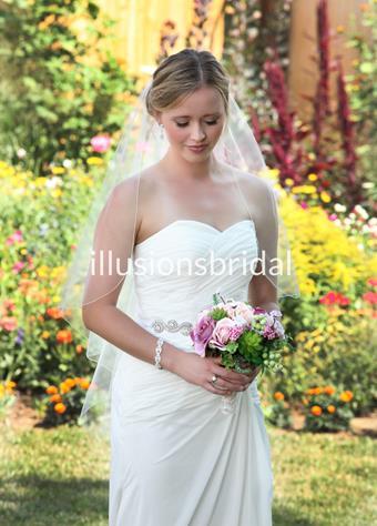 Illusions Bridal Veils Style #W