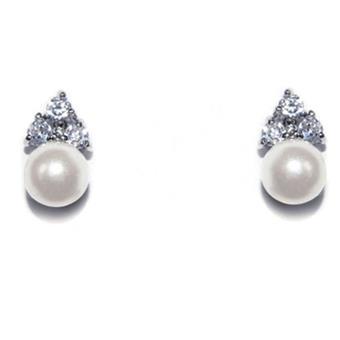 Ivory & Co #Classic Pearl Earrings
