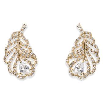 Ivory & Co #Long Island Gold Earrings