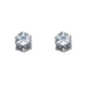 Ivory & Co #Solitaire Earrings