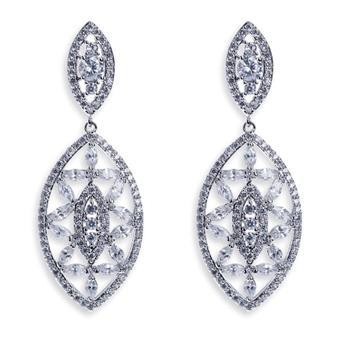 Ivory & Co #Wall Street Earrings