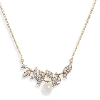 Ivory & Co #Aphodite Gold Pendant Necklace
