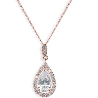 Ivory & Co #Belmont Rose Gold Necklace