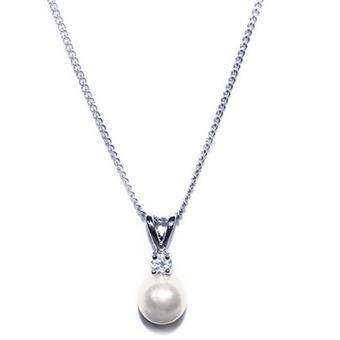 Ivory & Co #Classic Pearl Pendant