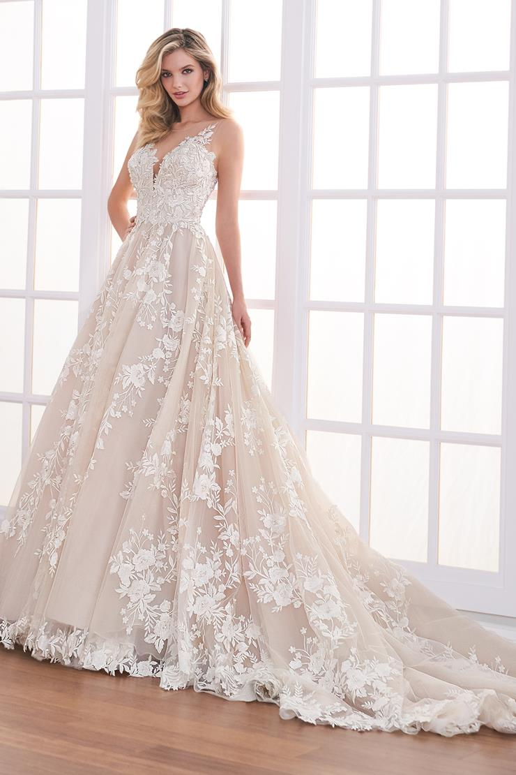 Abelle Tulle A-line wedding dress with delicate beaded lace details