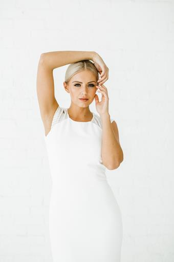 Alyssa Kristin Style #Stella - Sleeveless