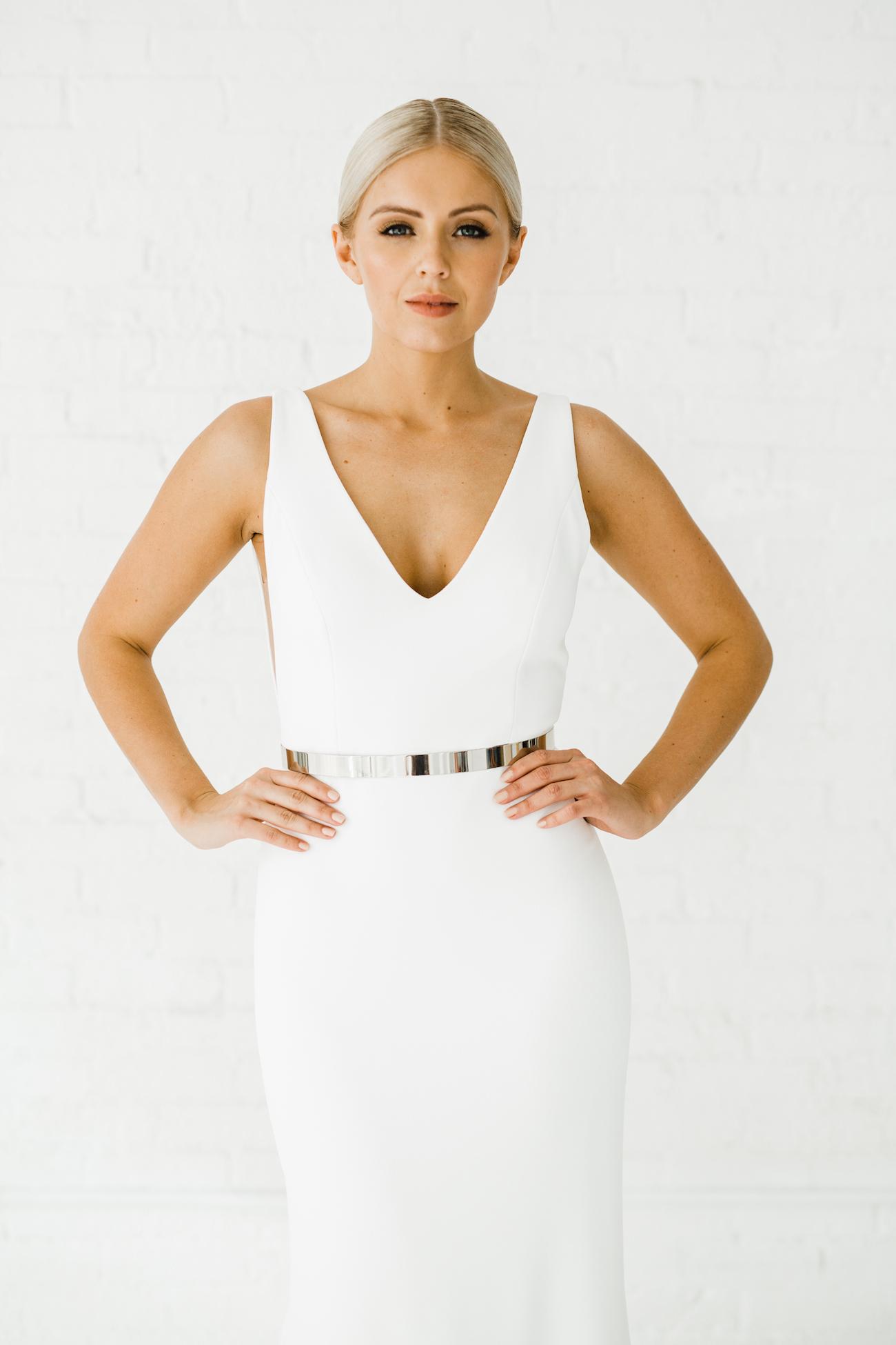 Alyssa Kristin Sydney Wedding Dress   New, Size: 6, $2,300