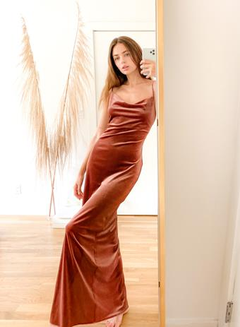 Twobirds NY Velvet Cowl Dress