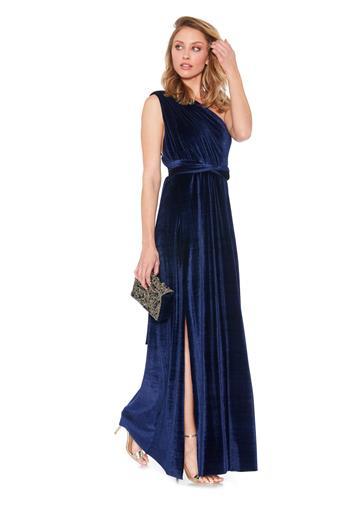Twobirds NY Velvet Slit Dress