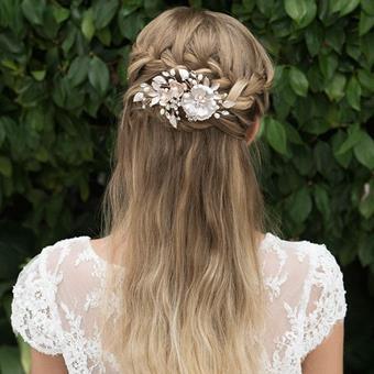 Ivory & Co Golden Haircombsbett #Copper Rose
