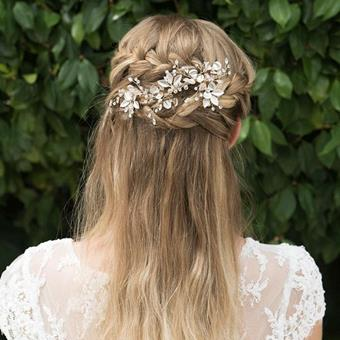 Ivory & Co Golden Haircombsbett #Desert Rose