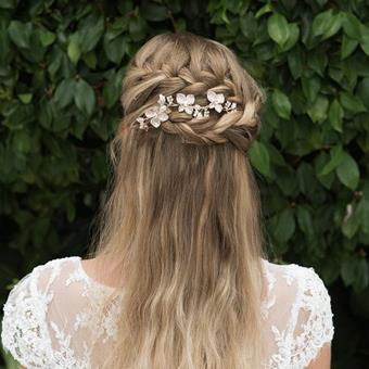 Ivory & Co Golden Haircombsbett #Petunia