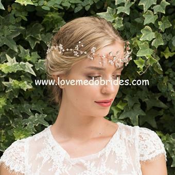 Ivory & Co Hairvines #Cinnamon Rose