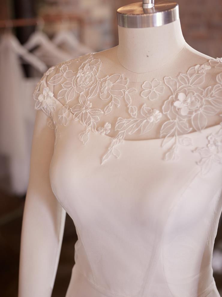Maggie Sottero Akari Jacket - Lace Cap Sleeves  Image
