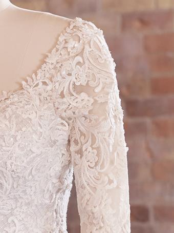 Maggie Sottero Lunaria Detachable Long Sleeves