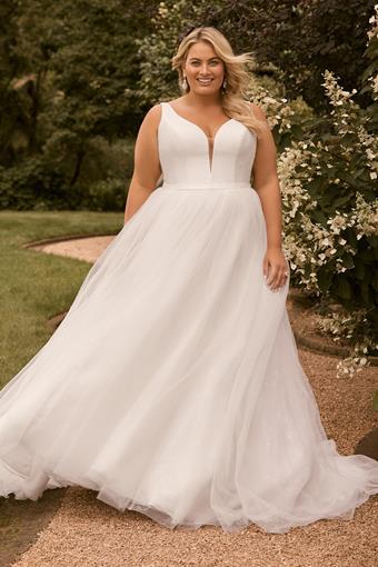 Modern Princess Ballgown Wedding Dress Harper