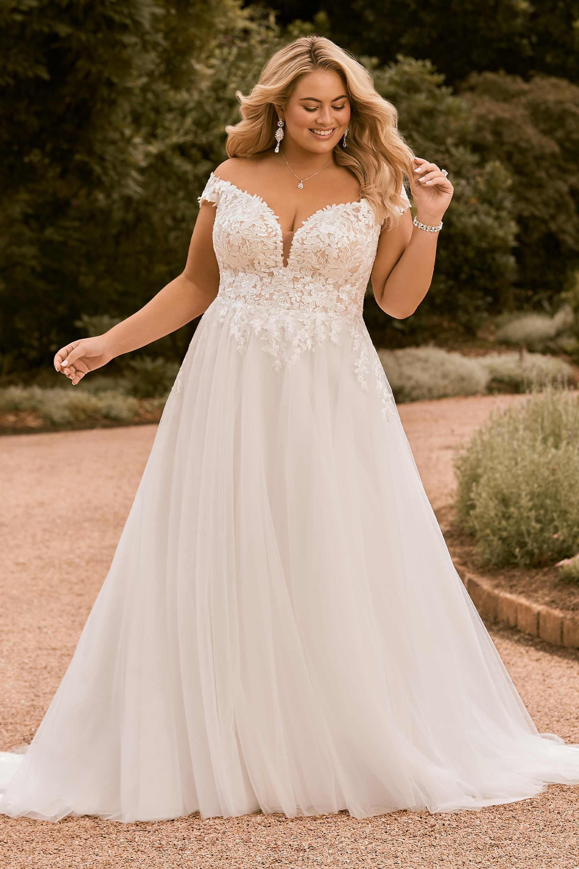 Plus Size Wedding Dresses   Plus Size Wedding Gowns   Sophia Tolli
