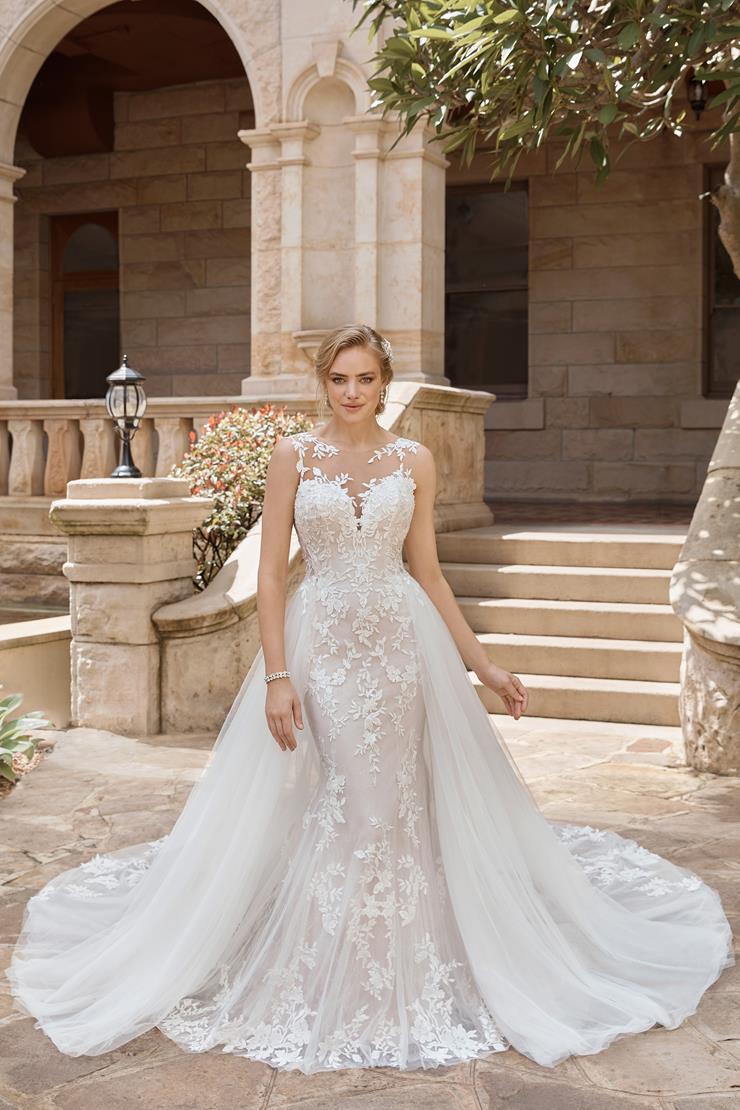Glamorous Two-Piece Wedding Dress