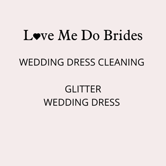 Love Me Do #Glitter Wedding Dress