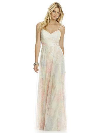 Love Me Do Brides #6766 FLORAL PRINT