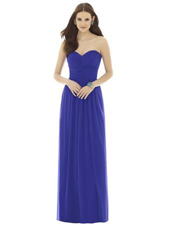 Love Me Do Brides #D725 ELECTRIC BLUE