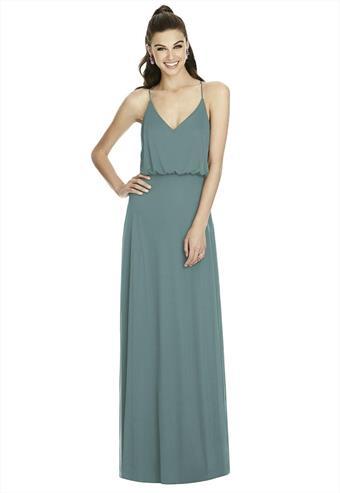 Love Me Do Brides #D739 GOLDEN & SMOKED BLUE