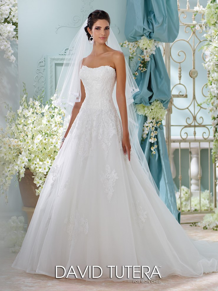 David Tutera for Mon Cheri Style #116208