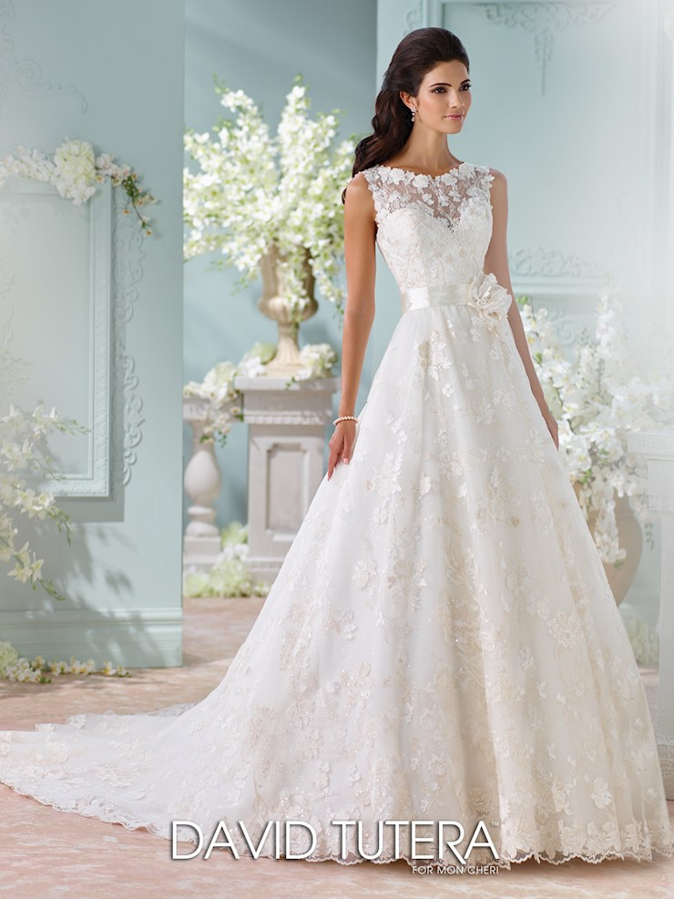 David Tutera for Mon Cheri Style #116218