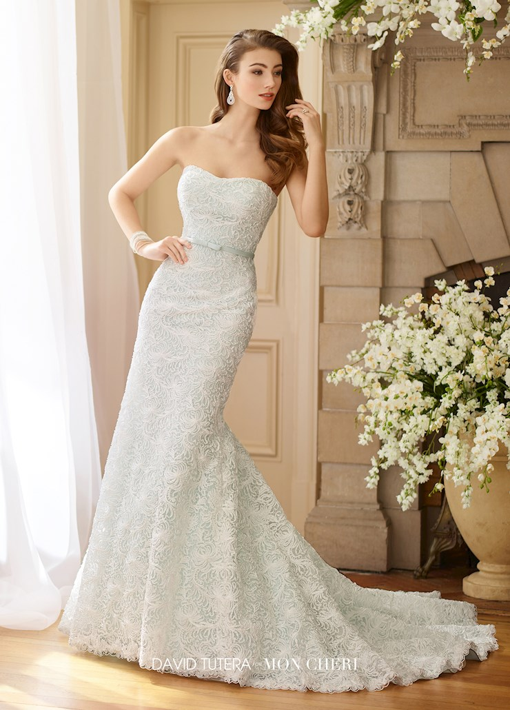 David Tutera for Mon Cheri Style #217216