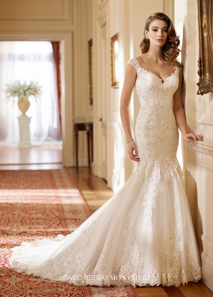 David Tutera for Mon Cheri Style #217219