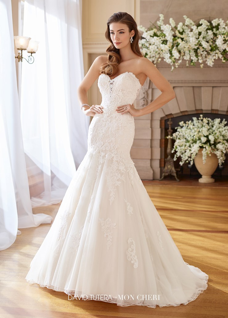 David Tutera for Mon Cheri Style #217226