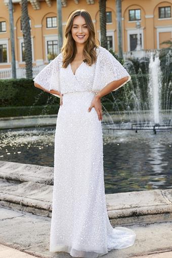 Adrianna Papell Platinum - Destination Style #40308