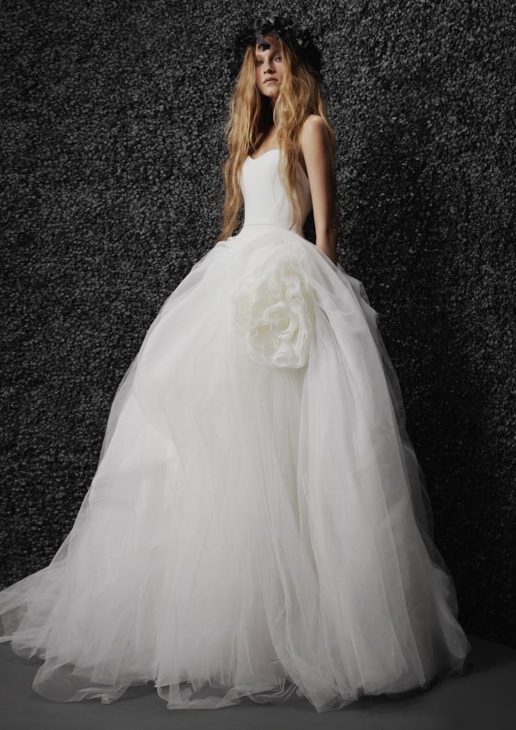 Vera Wang Bride Style #Alizee