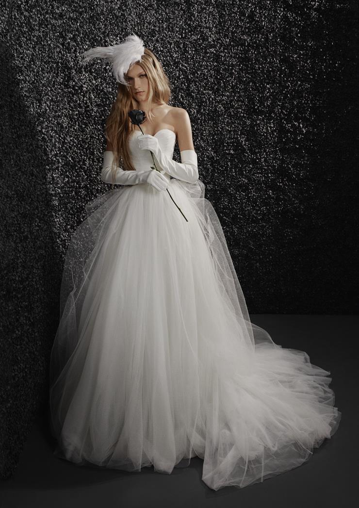 Vera Wang Bride Style #Claudine