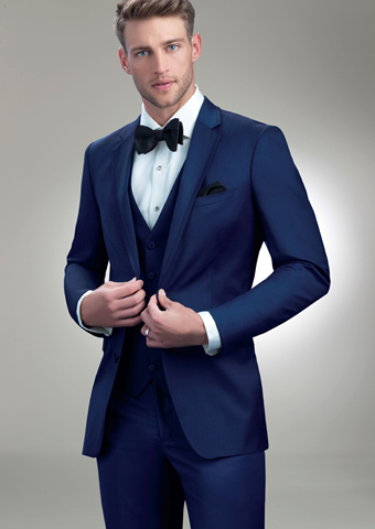 Allure Men Style Cobalt Blue Brunswick