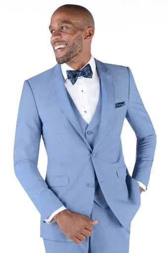 Allure Men Style Cornflower Blue Brunswick