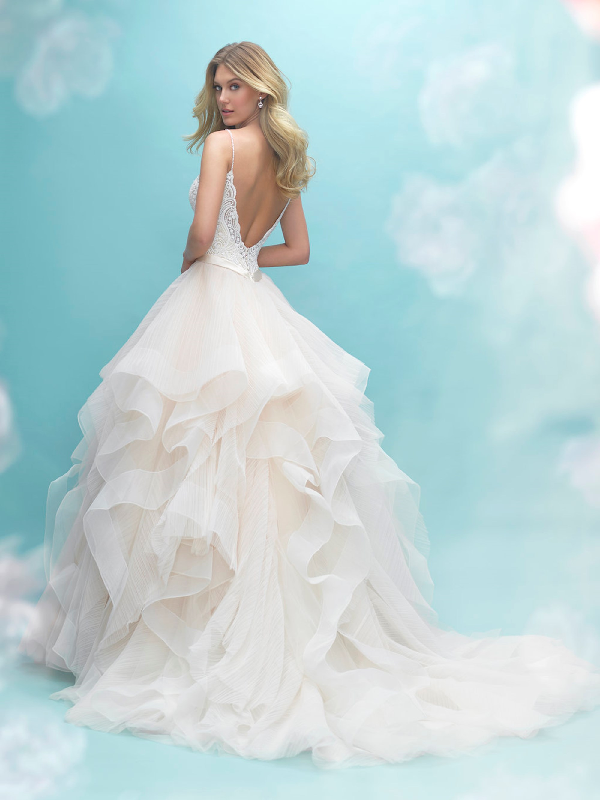 Unique lady bridal and prom allure 9450 ombrellifo Image collections