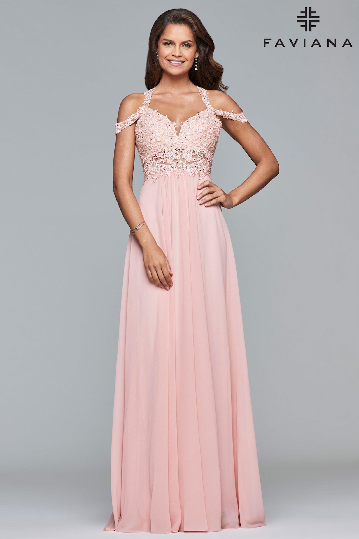 FAVIANA - 10006   Bliss Bridal & Black Tie