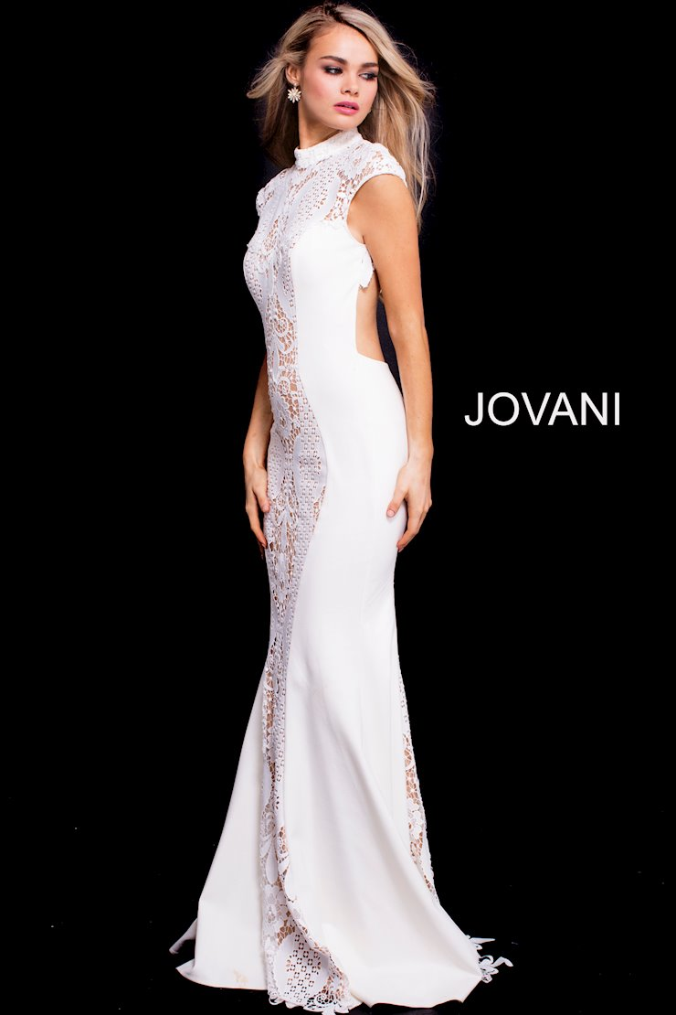 11cfd3ffd10c2 Jovani White Prom Dress 2018 - Down To Earth Bali