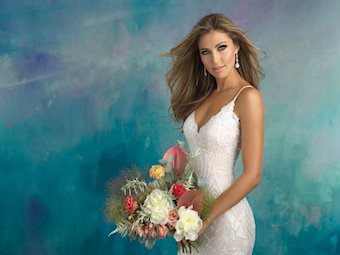 Allure Bridals Style #9508