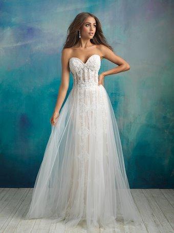 Allure Bridals Style No. 9523