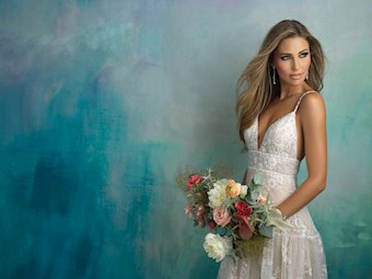 Allure Bridals Style #9526