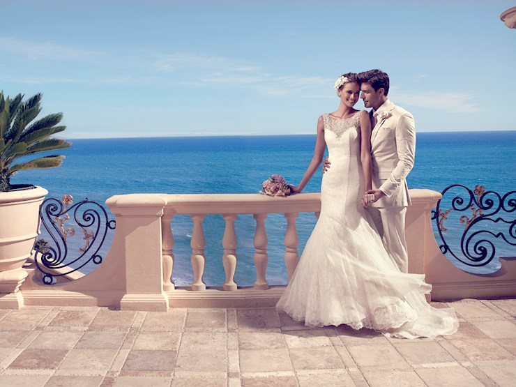 Casablanca Bridal Style #2185  Image