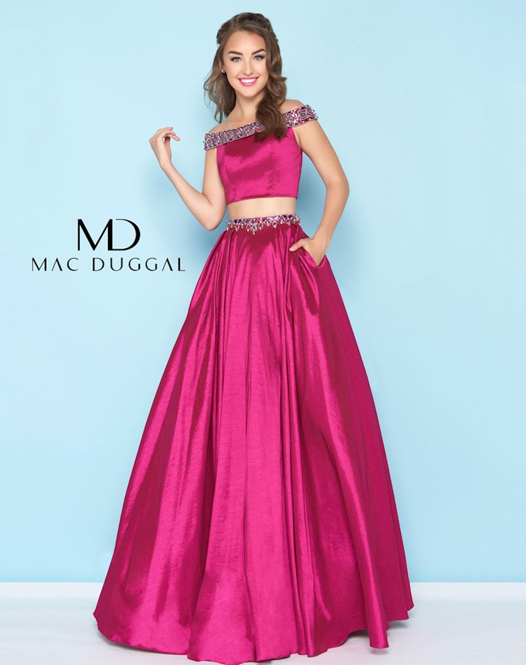 Mac Duggal Spring 2018 Ball Gowns | Anne\'s Bridals in KY - 40745H